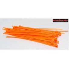 Colliers 2x100mm oranges ( 25 ) : m1804