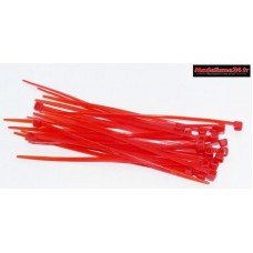 Colliers 2x100mm rouge ( 25 ) : m1807