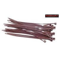 Colliers 2x100mm marron ( 25 ) : m1808