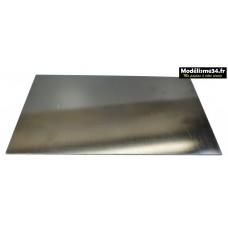 Plaque epoxy noire 300x170mm de 2mm ; m1820