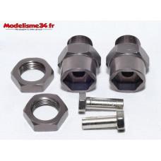 Adaptateurs 12/17 gris métal ( 2 ) : m703