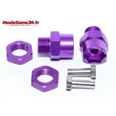 Adaptateurs 12/17 mauve / violet ( 2 ) : m704