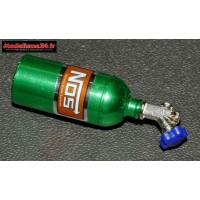 Bouteille Kit Nos crawler en alu vert démontable : m822