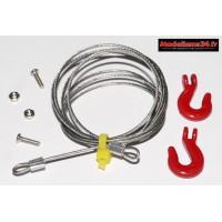 Cable de remorquage avec crochets : m846