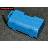 Jerrican d'eau bleu : m854