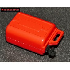 Jerrican carburant rouge : m855