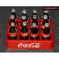 Caisse de 12 bouteilles de Coca Colas : m863