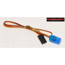 Gyrophare led bleu : m915