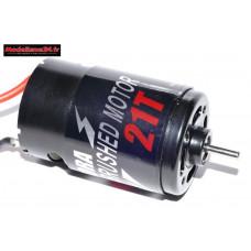 Moteur électrique charbons type 550 / 21 tours sur roulement : M1116