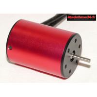 Moteur type 3650 Brushless 4 Poles 3100Kv : m1211