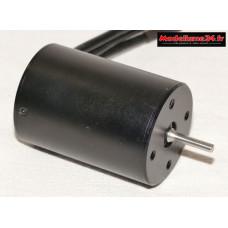Moteur type 3650 Brushless 4 Poles 3100Kv : m1213