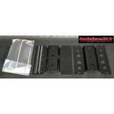 Support voiture alu rotatif noir : m271