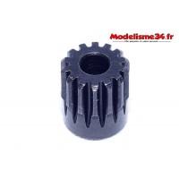 Pignon moteur 14 dents 32DP acier - m41