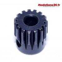 Pignon moteur 15 dents 32DP acier - m42