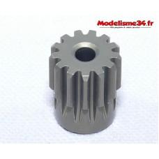 Pignon moteur 13 dents 32DP alliage - m61