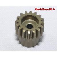 Pignon moteur 16 dents 32DP alliage - m64