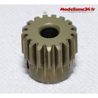 Pignon moteur 17 dents 48DP alliage - m81