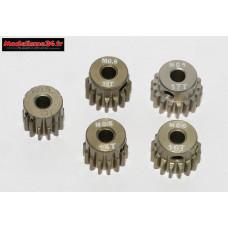 Pignons moteurs module 0.60 ( Tamiya ) de 13 à 17 dents : m70