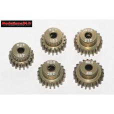 Pignons moteurs module 0.60 ( Tamiya ) de 18 à 22 dents : m71