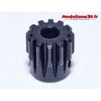 Pignon moteur M1 12 dents acier serie light - m21