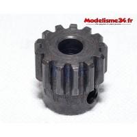 Pignon moteur M1 13 dents acier serie light - m22