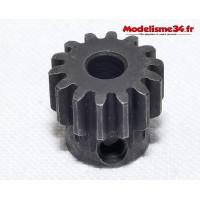 Pignon moteur M1 14 dents acier serie light - m23