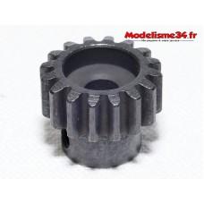 Pignon moteur M1 16 dents acier serie light - m25
