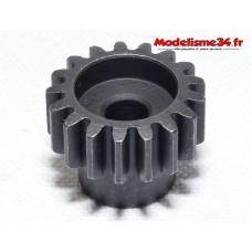 Pignon moteur M1 17 dents acier serie light - m26