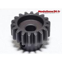 Pignon moteur M1 18 dents acier serie light - m27