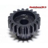 Pignon moteur M1 19 dents acier serie light - m28