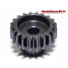 Pignon moteur M1 20 dents acier serie light - m29