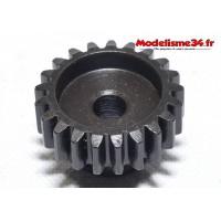 Pignon moteur M1 21 dents acier serie light - m30