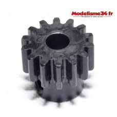 Pignon moteur M1 13 dents acier plein - m03