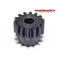 Pignon moteur M1 14 dents acier plein - m04