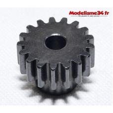 Pignon moteur M1 17 dents acier plein - m07