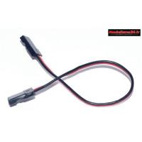 Câble mâle / mâle pour connexion contrôleur / boitier de programmation : m114