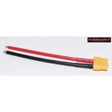 Câble 10cm avec prise XT60 femelle : m1029
