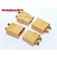 Prises XT60 2 paires : m1031