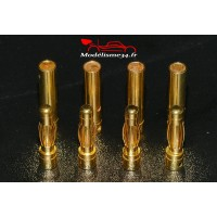Prises PK 4mm - 4 paires