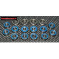 Roulements kit 16 pièces pour Tamiya TT-02 : m123