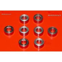Roulements 3x6x2,5 - 8 pièces - m100