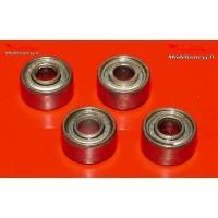 Roulements 3x8x4 - 4 pièces - m101