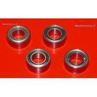 Roulements 4x8x3 - 4 pièces - m102