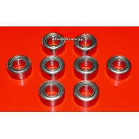 Roulements 5x10x4 ABEC 3 ( 8 pièces ) : m115
