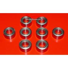 Roulements 5x10x4 - 8 pièces - m115