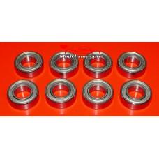 Roulements 8x16x5 - 8 pièces - m118