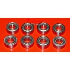 Roulements 5x11x4 - 8 pièces - m116