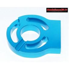 Support moteur usiné bleu 1/10 et 1/8 : m1147