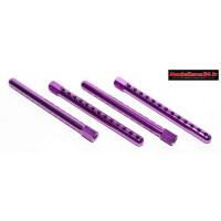 Supports carrosserie alu violet 5mm ( 4 ) : m640