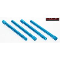 Supports carrosserie alu bleus 5mm ( 4 ) : m641
